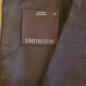 C/MEO Collective Dresses - C/MEO Collective Black Skater Dress